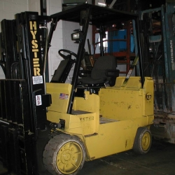 Forklift-Hyster-E80XL-8000-cushion-tire-electric